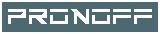 PRONOFF Logo